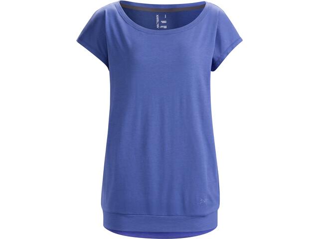 Arc'teryx Ardena T-shirt zippé Femme, iolite